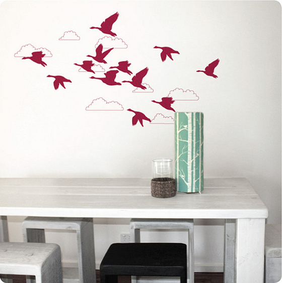 Micro Trend Wall Stickers Decor Design Show