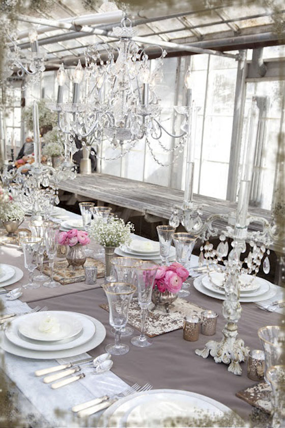 ... decor trends lately, the much-loved shabby chic or rustic farmhouse