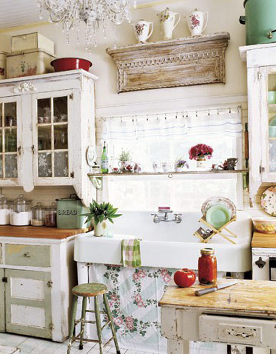 inside shabby chic and the rustic farmhouse design online