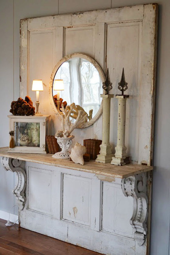 Inside shabby chic and the rustic farmhouse decor for Style shabby chic decoration