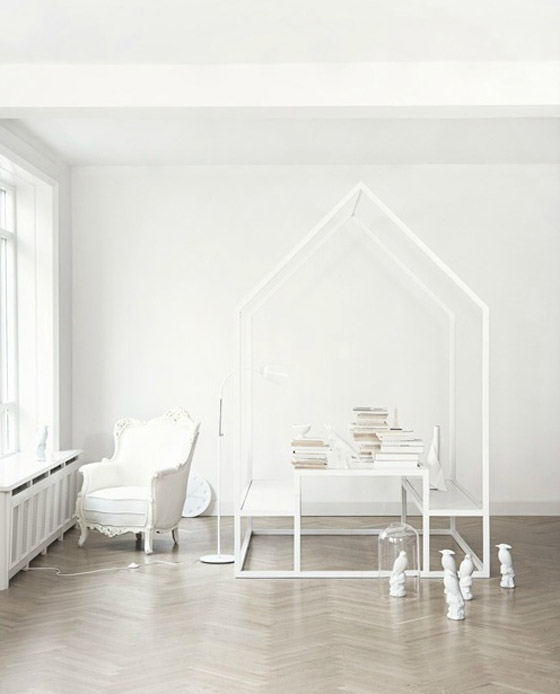 All White Interiors - Interior Design