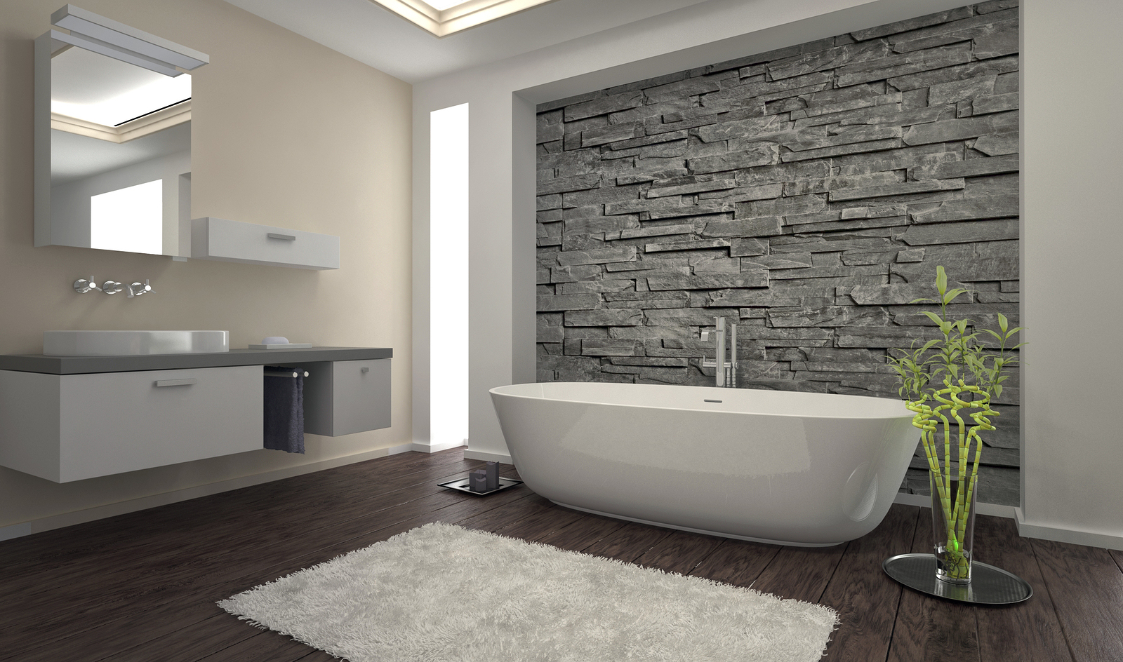 In recent years the bathroom has evolved from a purely functional room to a  living space where we can luxuriate and wash away the worries of the day.