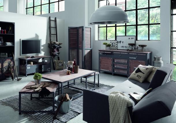 LaForma's Erutna range has many storage options for casual living.