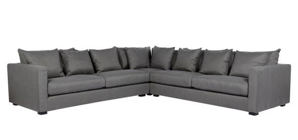 Globe West's luxurious Vittoria Luisa sofa in linen.