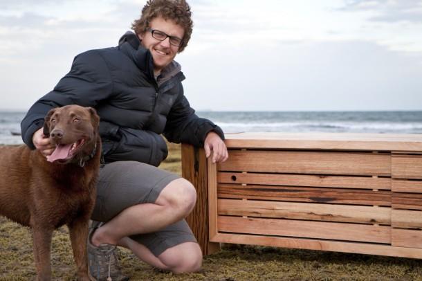 Torquay is home to Luke and Alison Collins of Bombora Custom Furniture.
