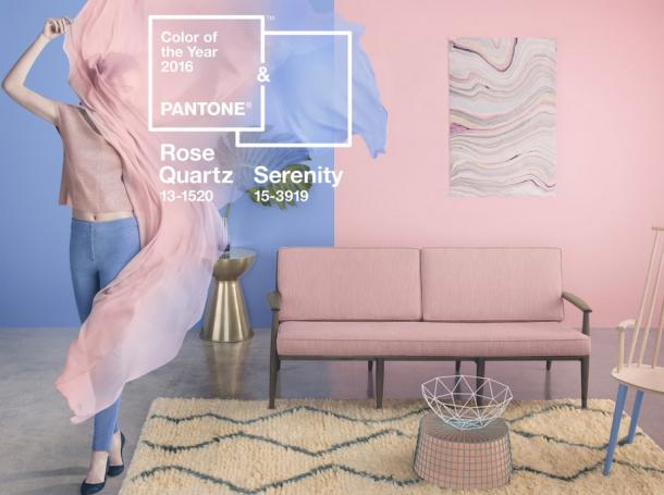 Living Room Breakdown - Pantone Colours of the Year