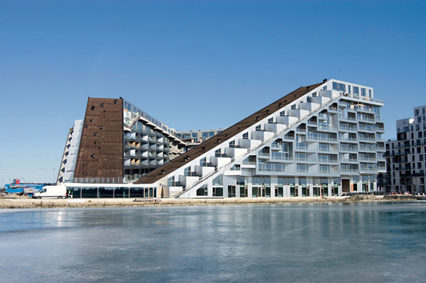 The Ingels design '8 House', Denmark